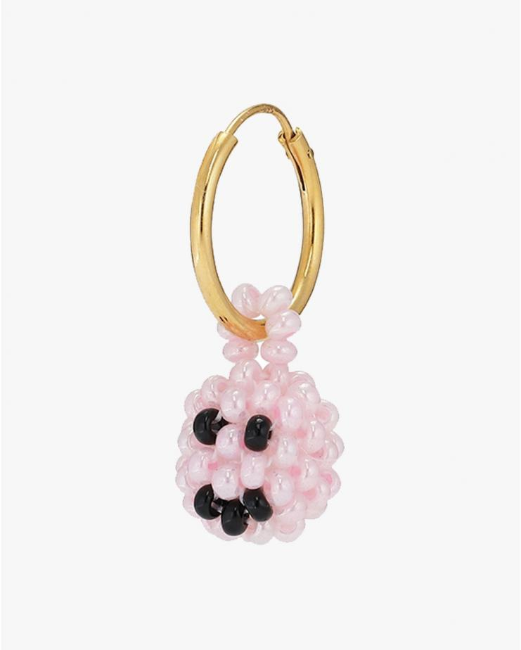 Exclusive Pink Smiley Earring