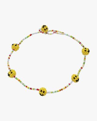Exclusive Multi Color Smiley Necklace