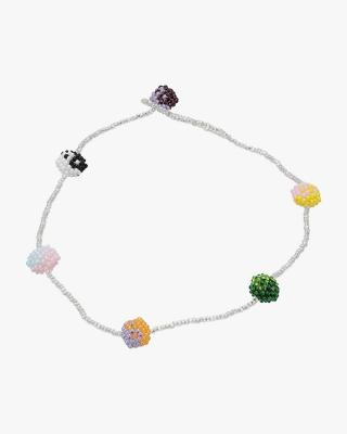 Exclusive Multi Coloured Yin Yang Necklace