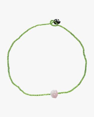 Exclusive Green Yin Yang Simple Necklace