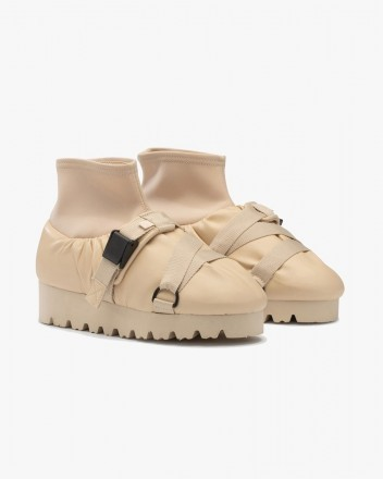 Camp Shoe High Beige