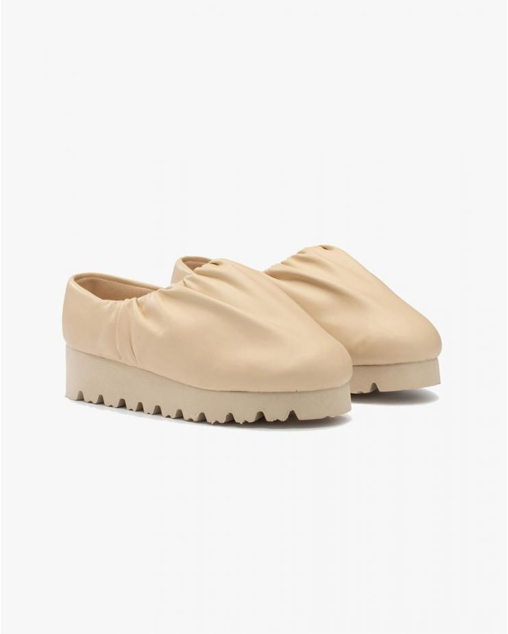 Camp Shoe Low Beige