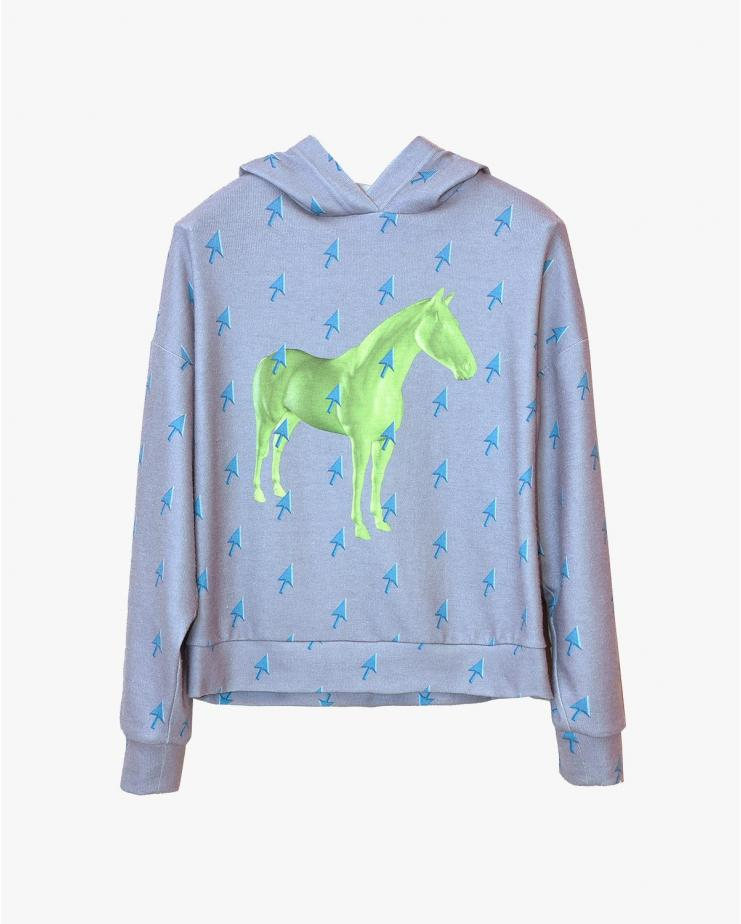 Horse & Mouse hoodie