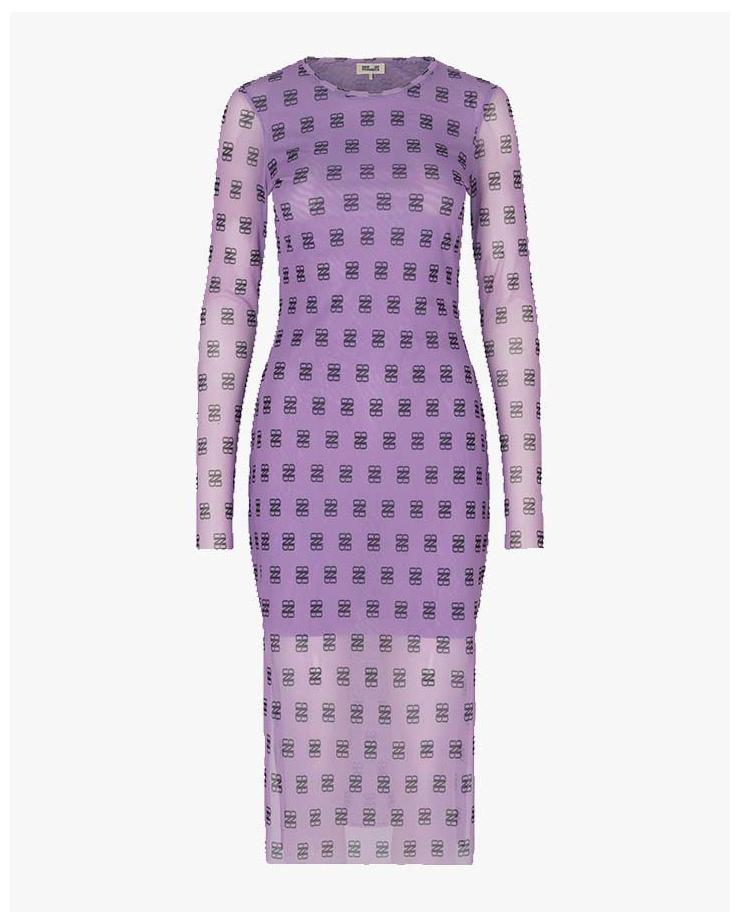 Jolanda Dress in Purple