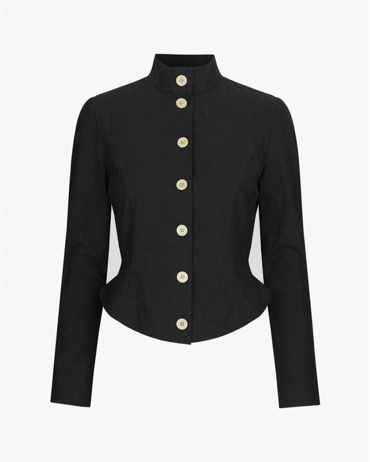 Bow Jacket in Black