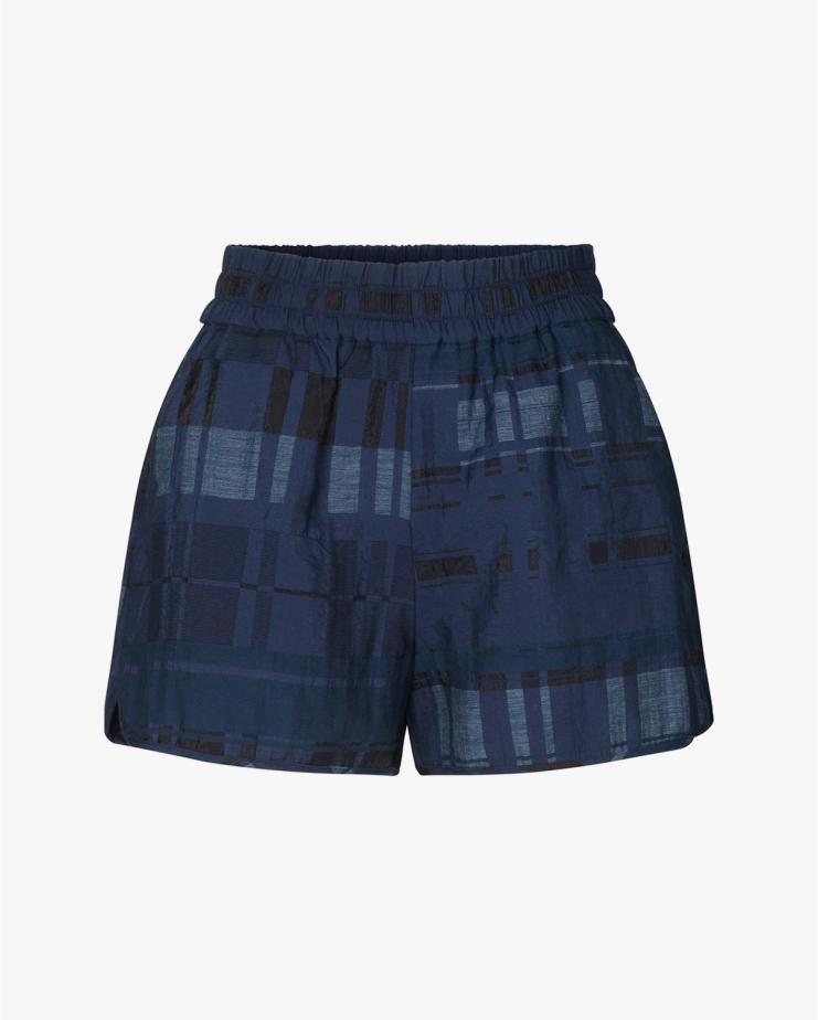 Nazyra Shorts in Blue