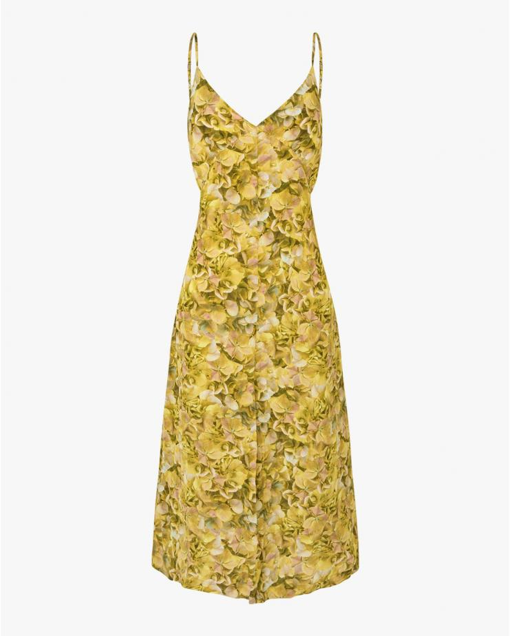 Abiella Dress in Yellow
