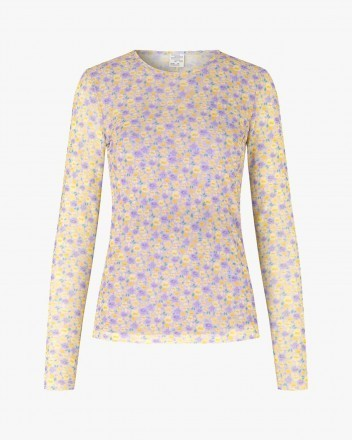 Jodiana Top in Yellow