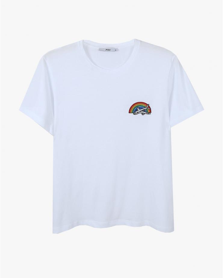 Rainbow Plane T-shirt