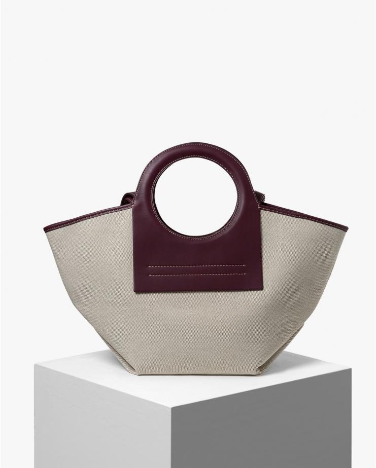 Cala Small Bag in Prune