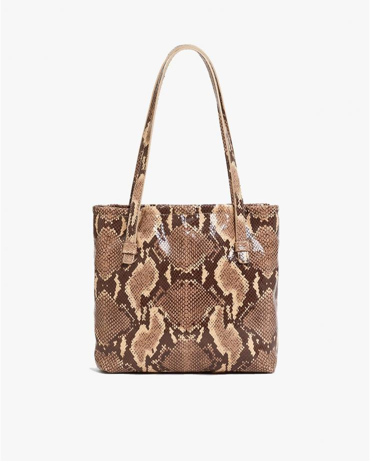Le Sac In embossed Python...