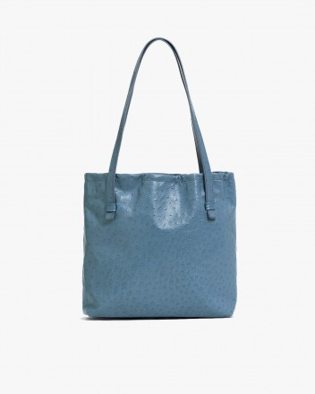 Le Sac In embossed Ostrich...