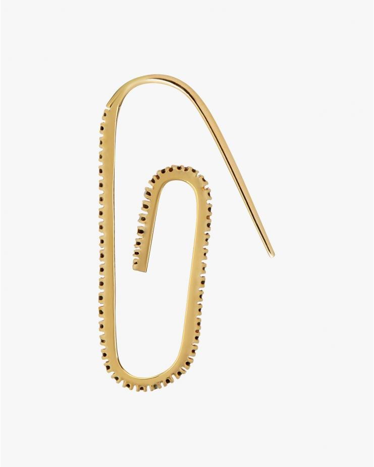 Classic Pave Paperclip...