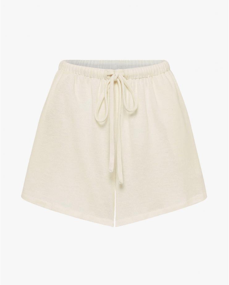 Odile Shorts in Ecru