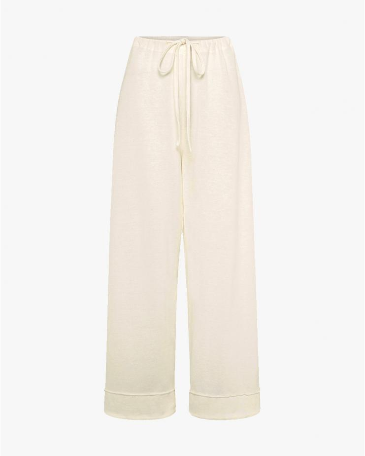 Odile Lounge Pants in Ivory