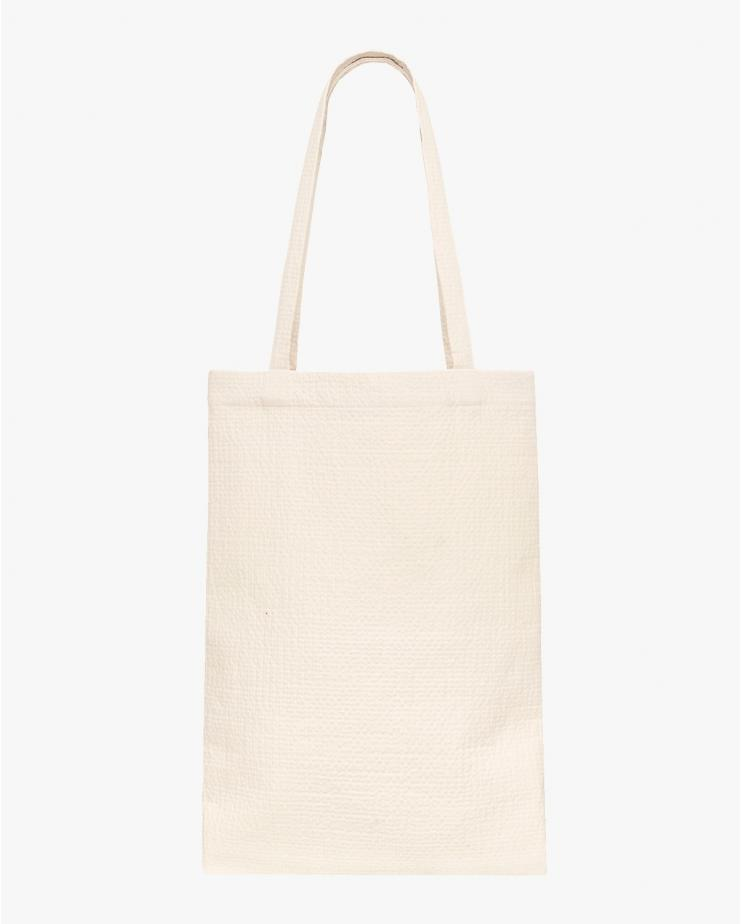 Waffle Tote Bag in Butter