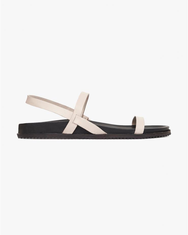 Gio Sandals in Ecru