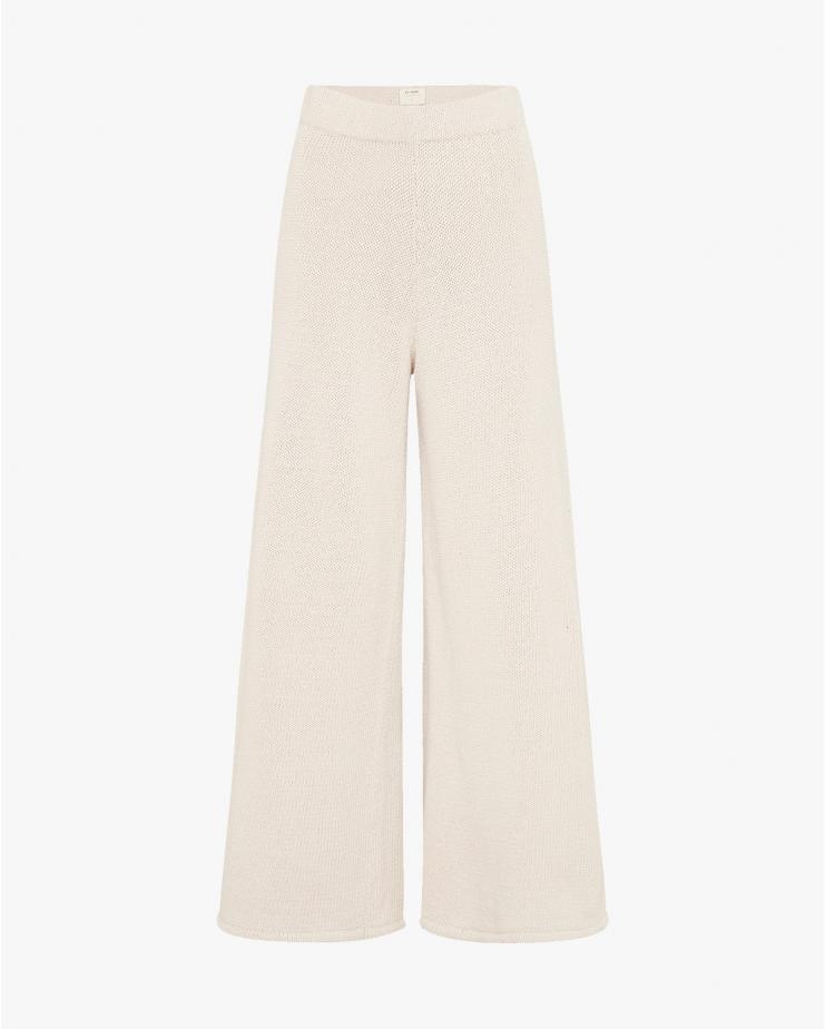 Rem Knit Lounge Pants in Ecru