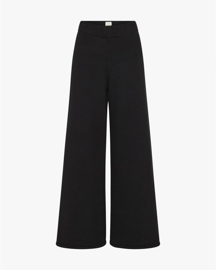 Rem Knit Lounge Pants in Black