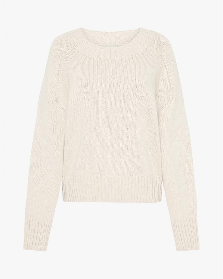 Eero Knit Pullover in Ecru