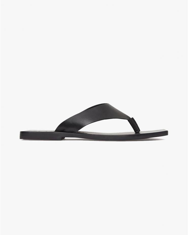 Oliver Thong Sandals in Black
