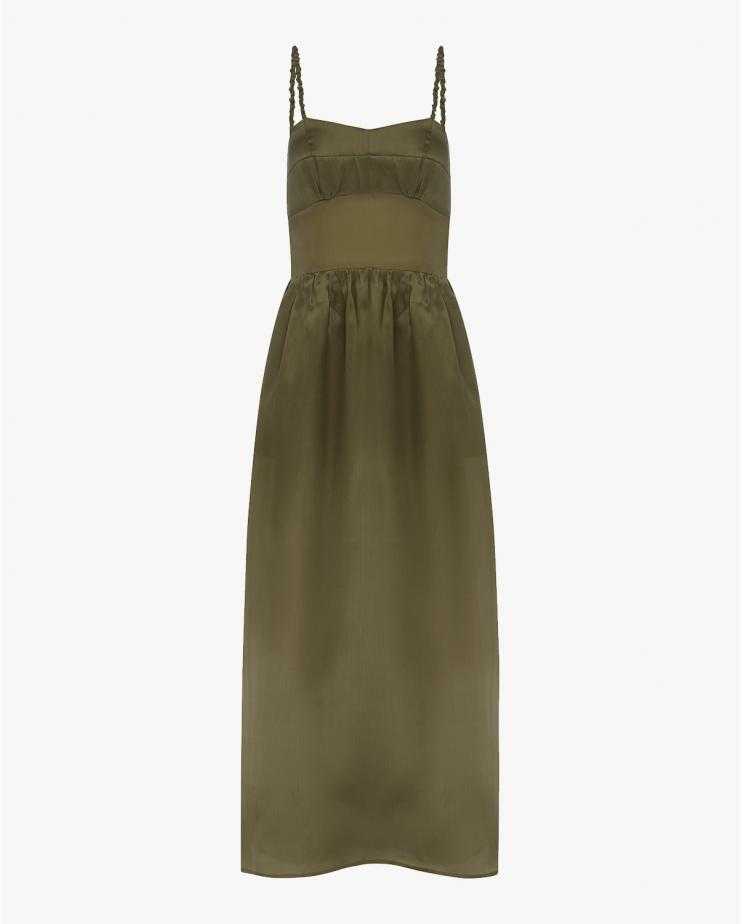 Alexandra Dress in Olive