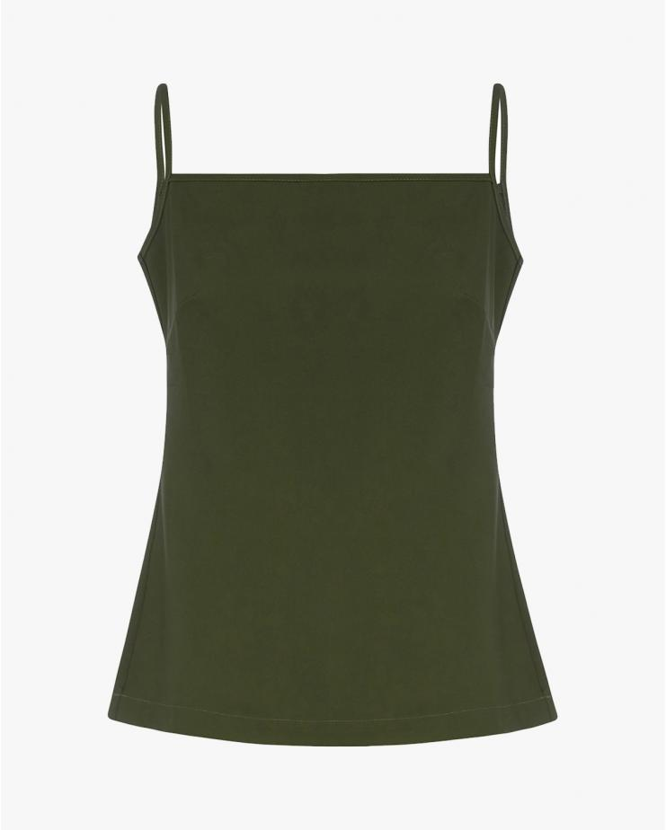 Flynn Top in Olive