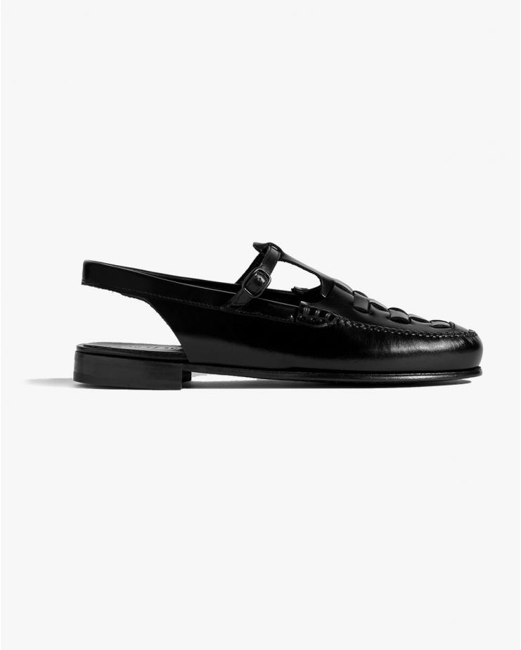 Roqueta Loafer in Black