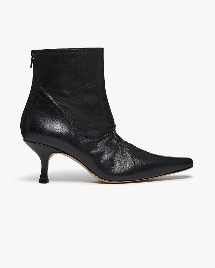 Luna Window Boots in Black...