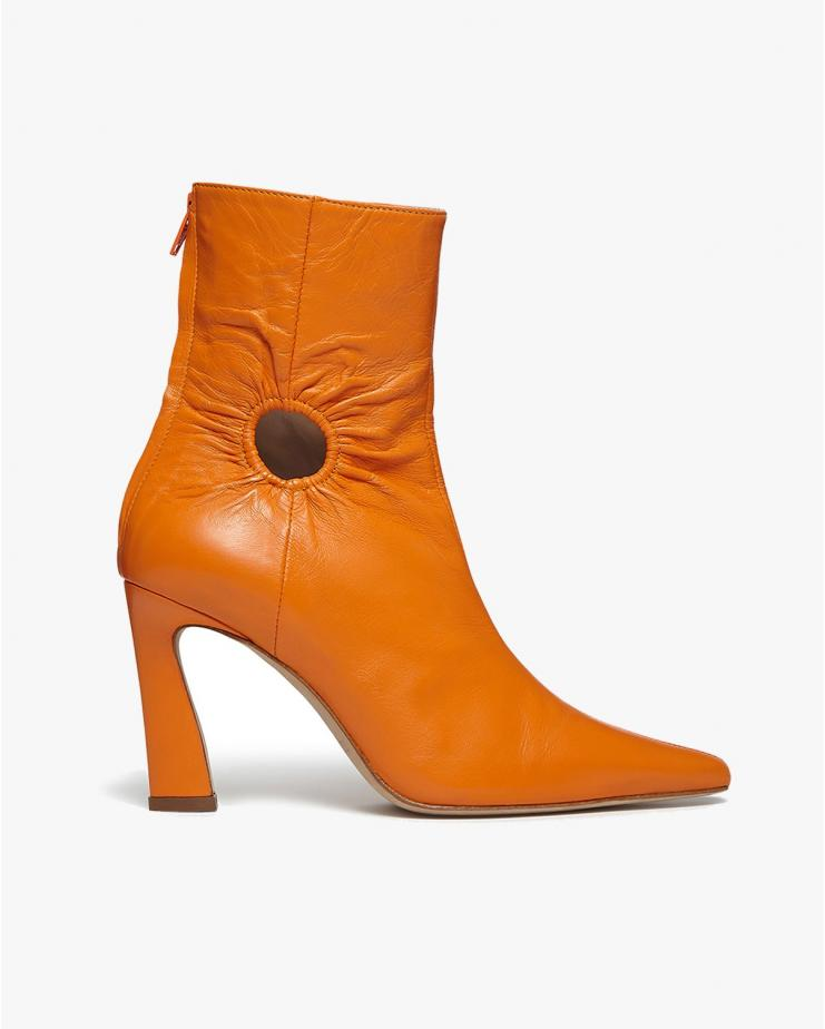 Fory Window Boots in Orange