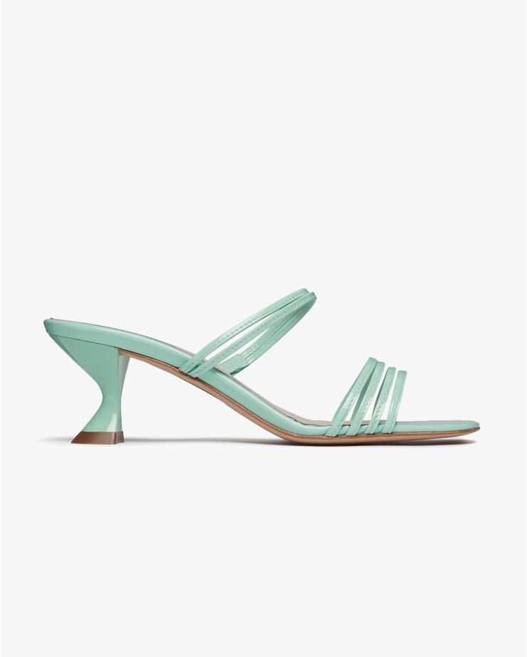Simon Mini Sandals in Aqua