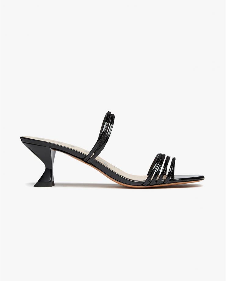 Simon Mini Sandals in Black