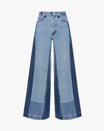 Reworked Wide Jeans