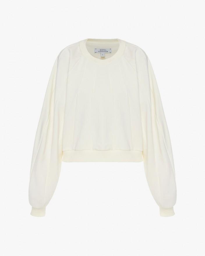 Stripped Oversized Sweatshirt