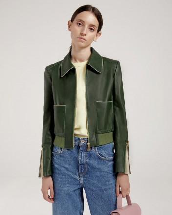 Culi Jacket in Khaki Green
