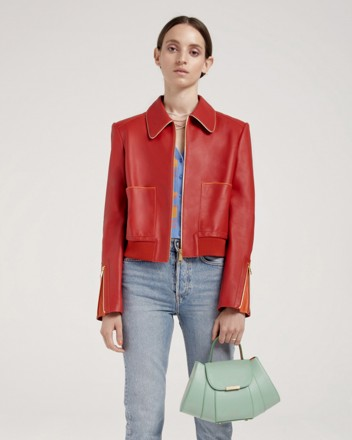 Culi Jacket in Red