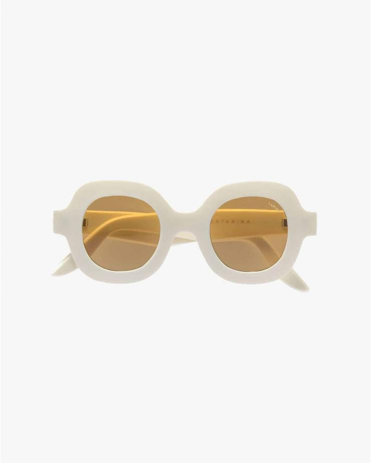 Catarina Sunglasses in White