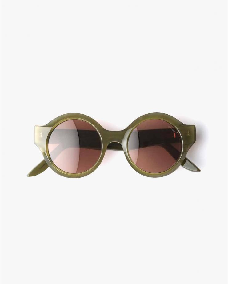 Olga Sunglasses in Oliva Solid