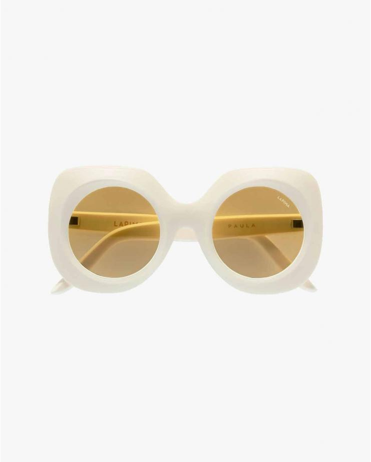Paula Sunglasses in White...