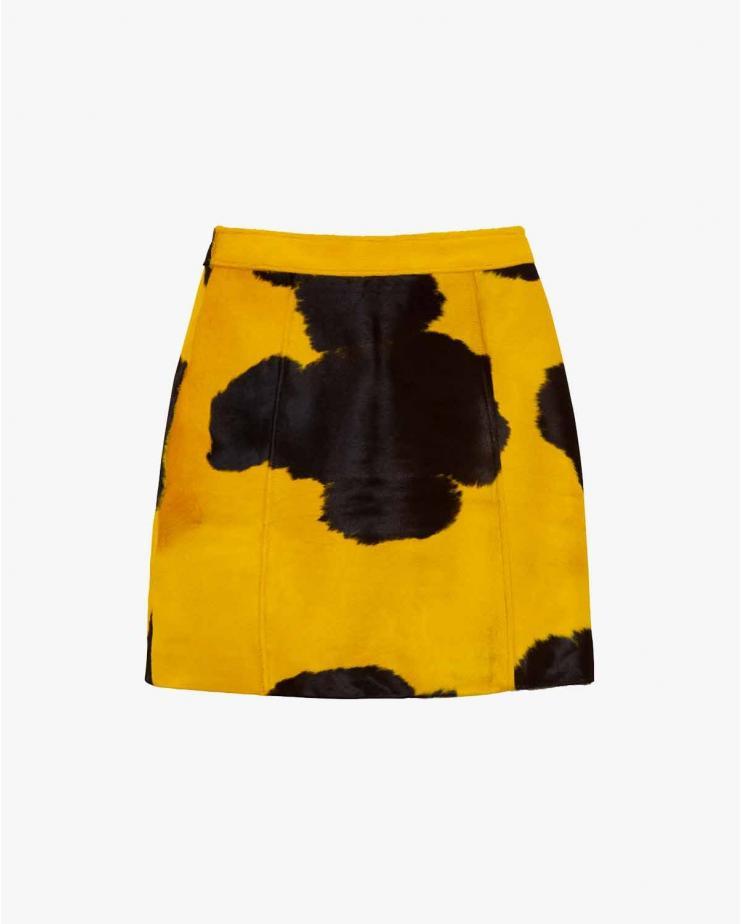 Eartha Skirt in Yellow