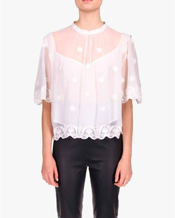 Hono Top in White