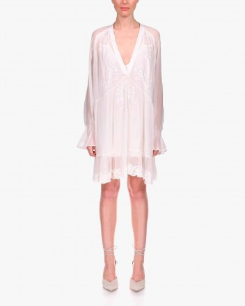 Joko Dress in White