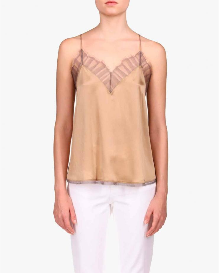 Berwin Top in Camel