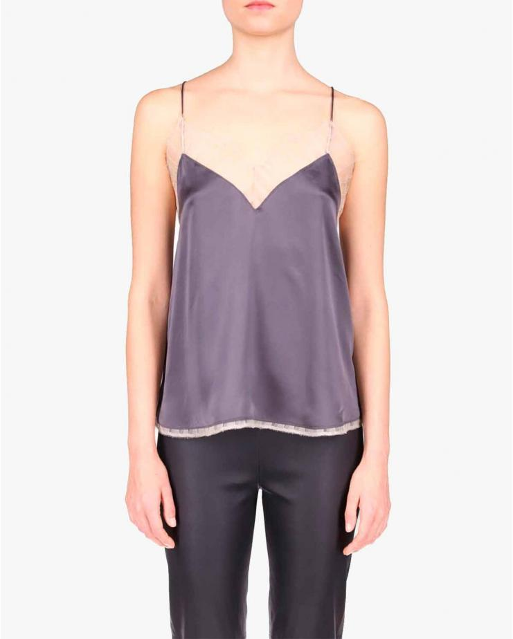 Berwin Top in Dark Grey