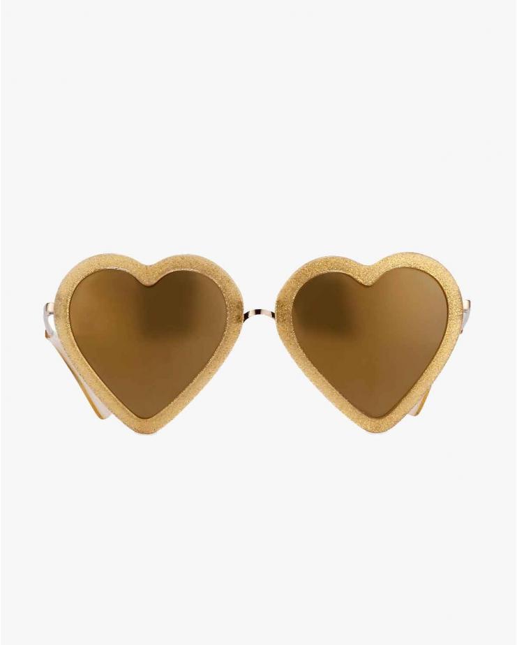 ML4 Gold Glitter Sunglasses
