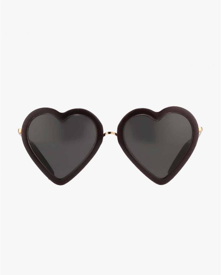 ML4 Black Glitter Sunglasses