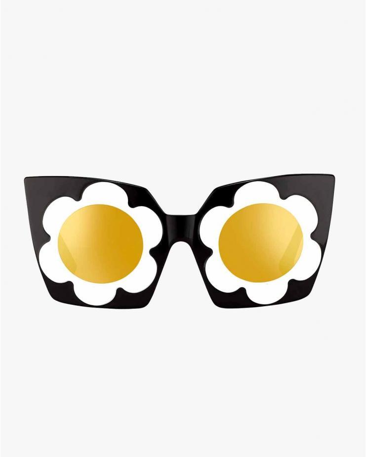ML9 White Flower Sunglasses