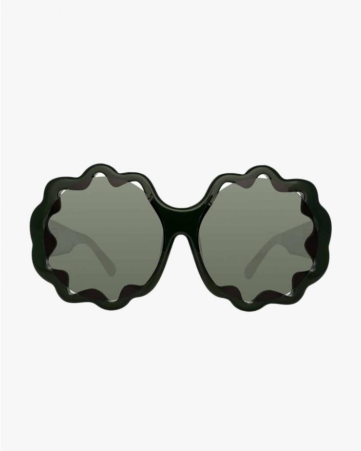 ML14 Dark Green Sunglasses