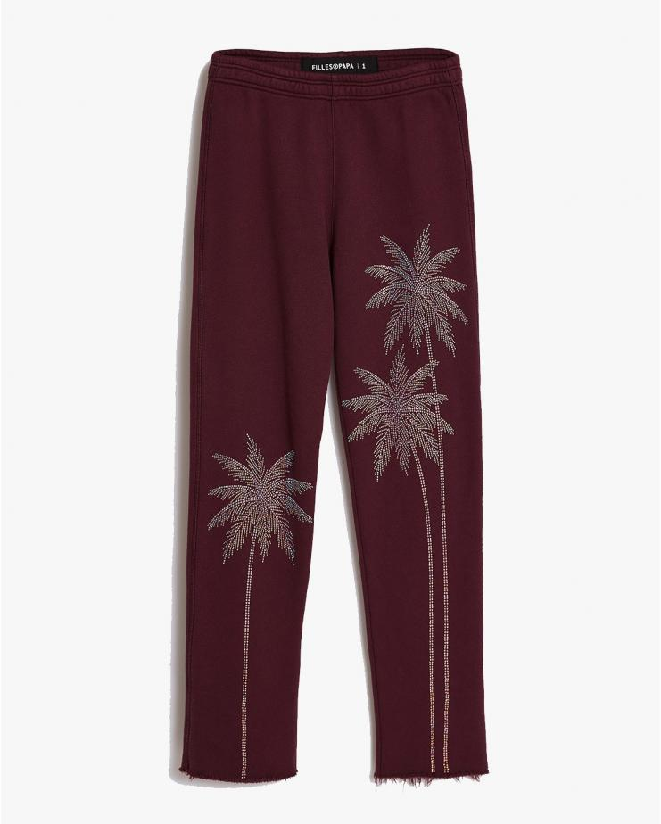 Cruz Sweatpants in Burgundy
