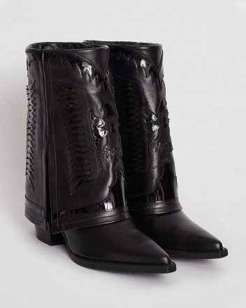 Texas Low Boots in Black